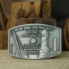 Miami Smelter Project Antique Belt Buckles