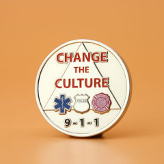 Change The Culture Challenge Coins