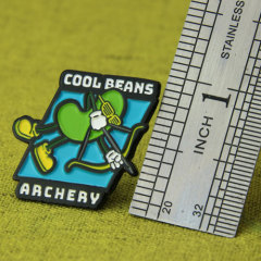 Cool Beans Lapel Pins