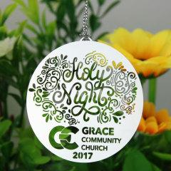 Grace Community Church Custom Ornaments