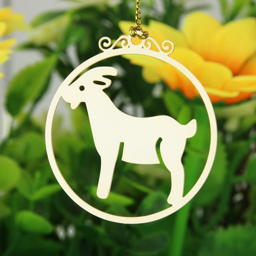Deer Christmas Custom Ornaments