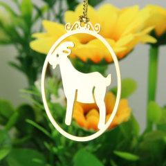 Deer Christmas Custom Ornaments