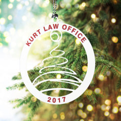 Kurt Law Office Custom Ornaments