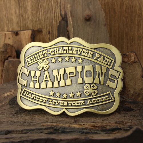 Champions Brass Belt Buckles