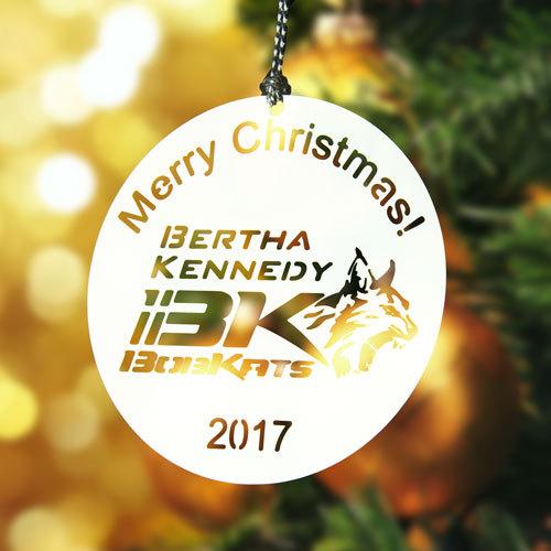 Nertha Kennedy Custom Christmas Ornaments