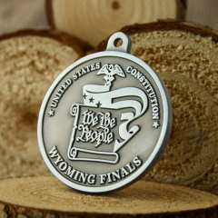 Wyoming Finals Customized Medals