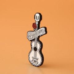 Skull Guitar Lapel Pins
