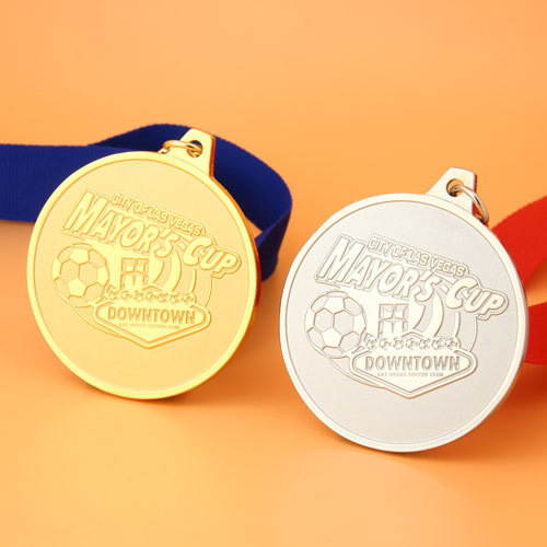 City of Las Vegas Mayor's Cup Custom Medals