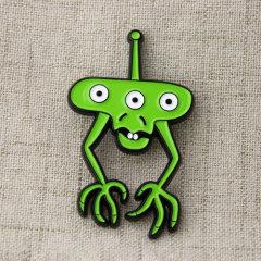 Green Monster Enamel pins