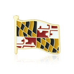 Maryland Flag Lapel Pin