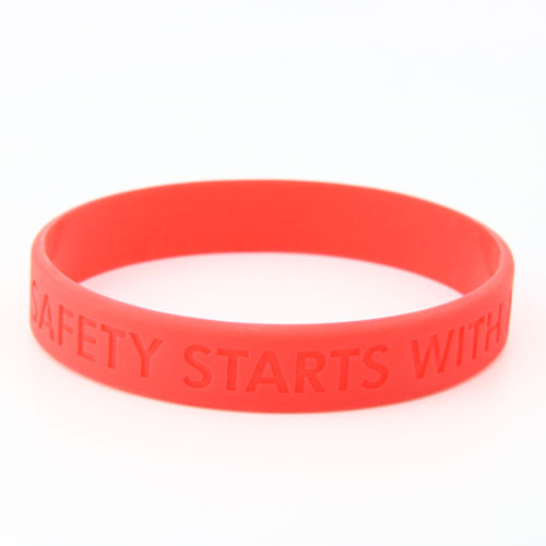 Safety Starts With Me Custom Wristbands