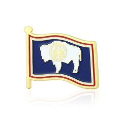 Wyoming Stock Lapel Pins