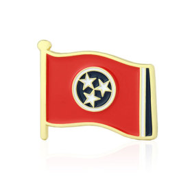 Tennessee Flag Lapel Pin