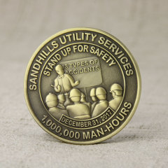 Safety Challenge Coins