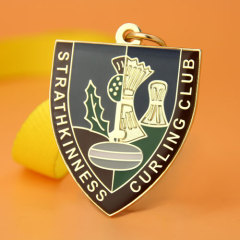 Strathkinness Curling Club Custom Medals