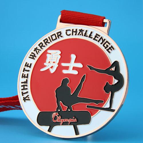 Athlete Warrior Challenge Custom Medals