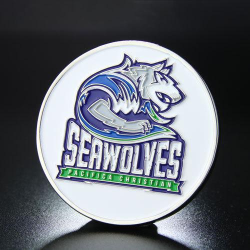 Seawolves Custom Challenge Coins