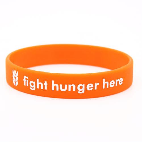 Faiths Food Bank Custom Wristbands