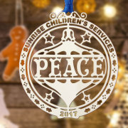 Sunrise Children's Services Etched Ornaments