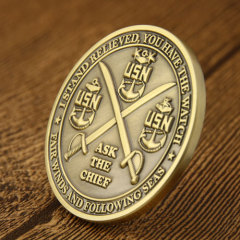 USN Ask the Chief Challenge Coins