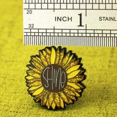 Daisy Enamel Pins