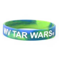 WV Tar Wars Silicone Wristbands