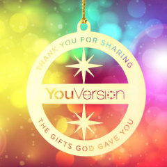YouVersion Custom Etched Ornaments