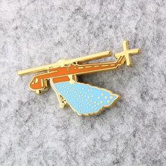Artificial Rainfall Custom Lapel Pins