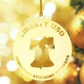 Liberty USO Custom Etched Ornaments