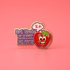 Red Apple Custom Enamel Pins