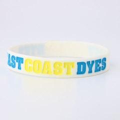 East Coast Dyes Custom Wristbands