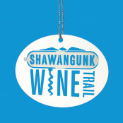 Shawangunk Wine Trail Etched Ornaments