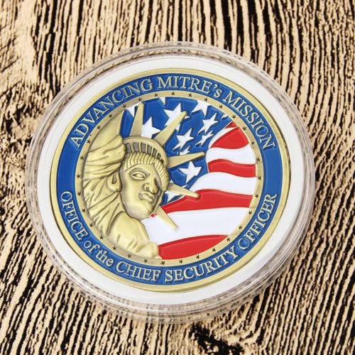 MITRE Corporation Challenge Coins