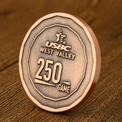 West Valley Usbc Custom Coins