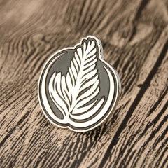 Coffee Pattern Custom Lapel Pins