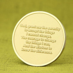 Serenity Prayer Cheap Challenge Coins