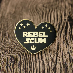 Rebel Scum Custom Enamel  Pins