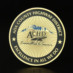 ADA County Highway District Challenge Coins