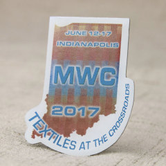 Midwest Weavers Conference Lapel Pins