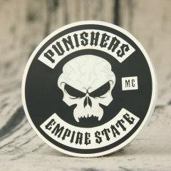 Punishers MC Challenge Coins