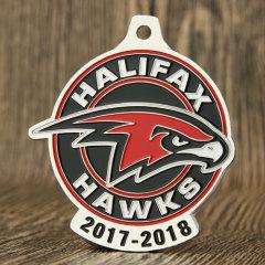 Halifax Hawks Race Medals