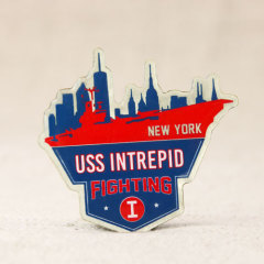 USS Intrepid Fighting Pins