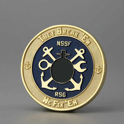 NSSF Military Challenge Coins
