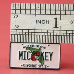Mickey Sunshine State Enamel Pins