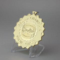 Custom Grand Champion Gold Medals
