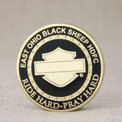 Black Sheep Cheap Challenge Coins
