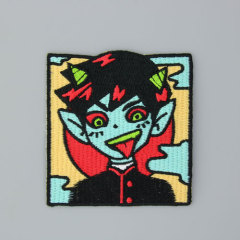 Cartoon Custom Embroidered Iron On Patches
