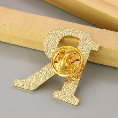 Letter R Custom Enamel Pins