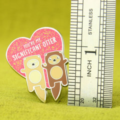 Significant Otter Custom Lapel Pins