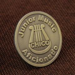 Music Aficionado Custom Pins